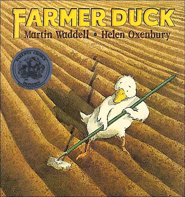 Farmer Duck Book & DVD front cov