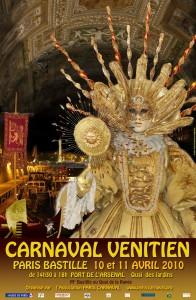 affiche carnaval venitien pars